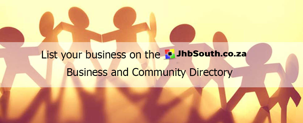 JHB SOUTH - List Your Business